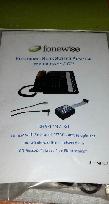 electronic hook switch cable